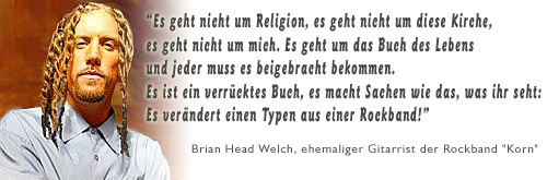"Briean Head Welch Ex-""Korn"""